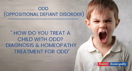 Homeopathy Treatment For ODD